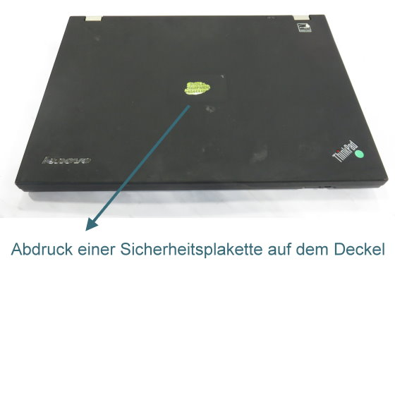 Panasonic Toughbook CF-53 MK3 Core i5 3340M @ 2,7GHz 8GB 500GB DVD±RW Klebereste