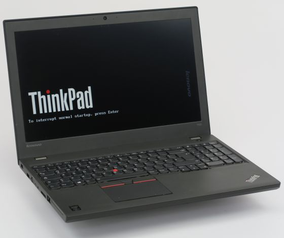 "15,6"" Lenovo ThinkPad T550 Core i5 5300U 2,3GHz 8GB 256GB SSD FP Full HD Webcam"