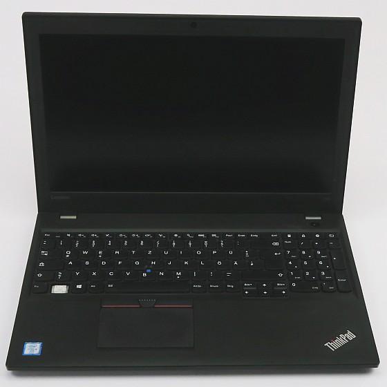 """15,6"""" Lenovo ThinkPad T560 i5 6300U 2,4GHz 4GB 320GB Full HD Cam BIOS PW B-Ware"""
