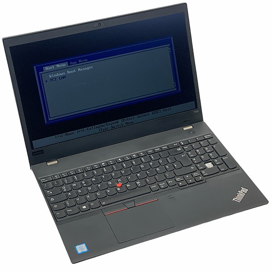 "15,6"" Lenovo ThinkPad T580 i5 8350U 1,7GHz 8GB o.NT/SSD BiosLocked B-Ware"