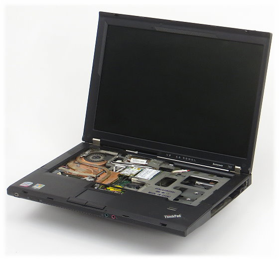 Lenovo ThinkPad T61 defekt/defect Intel Core 2 Duo T7300 @ 2 GHz im Lieferumfang nicht enthalten kei