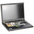 "15,4"" Lenovo ThinkPad T61 defekt für Bastler (ohne NT/Tastatur)"