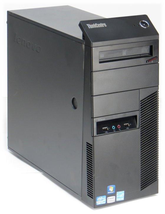 Lenovo Thinkcentre M91p Quad Core i5 2400 @ 3,1GHz 4GB 250GB DVD±RW Tower