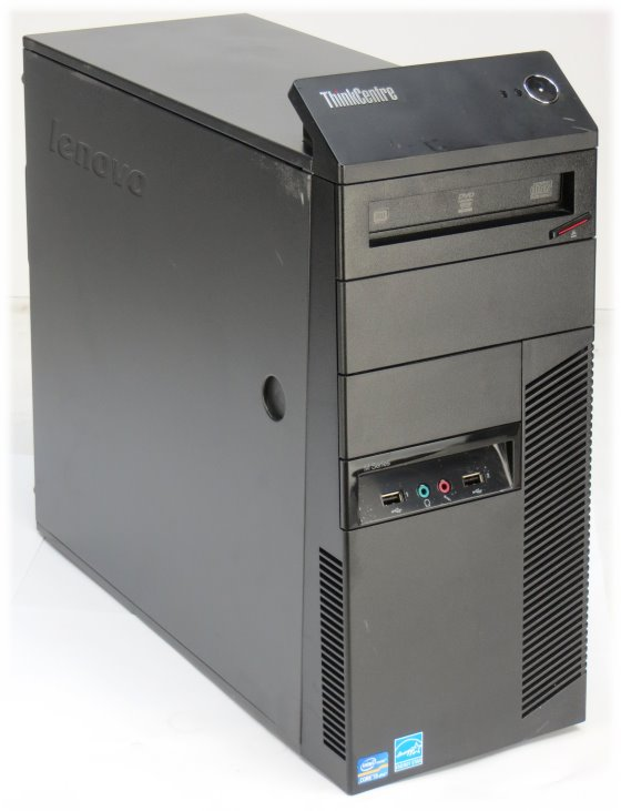 Lenovo Thinkcentre M92p Quad Core i5 3550 @ 3,3GHz 8GB 500GB DVD±RW Tower