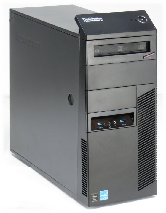 Lenovo Thinkcentre M93p Quad Core i5 4570 @ 3,2GHz 4GB 500GB DVD±RW PC Tower
