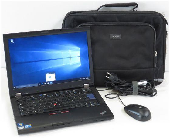 Lenovo ThinkPad T410 Core i5 Business Notebook mit Windows 10 + Tasche + Maus