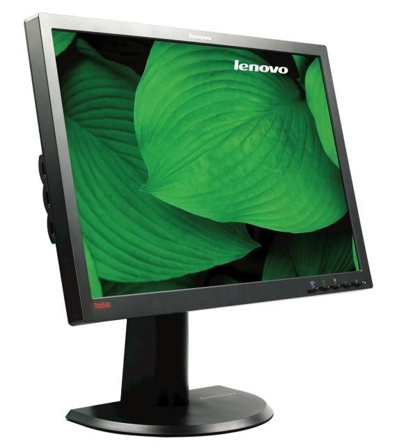 "24"" TFT LCD Lenovo L2440p 1000:1 5ms USB VGA DVI-D 1920 x 1200 PIVOT 4420-HB2"