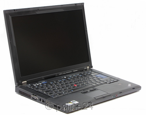 Lenovo ThinkPad T400 C2D 2,4GHz 2GB (nicht komplett, Power-ON, Bios passwort) B-Ware