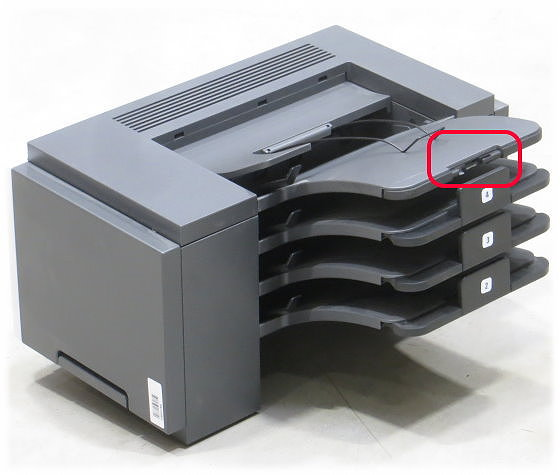 Lexmark 4-Bin Mailbox Finischer 40X8241 B-Ware (Papierbegrenzer abgebrochen)