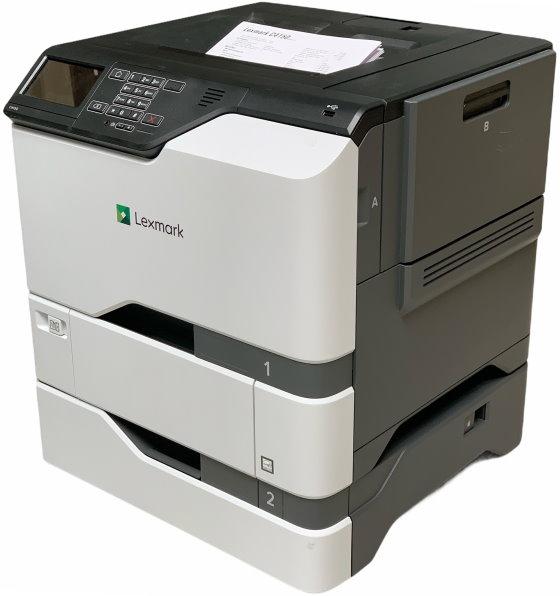 Lexmark C4150 47 ppm 1024MB Duplex LAN AirPrint Farblaserdrucker 166.100 Seiten