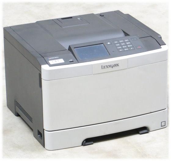 Lexmark CS510de 30 ppm 512MB Duplex LAN 19.750 Seiten Farblaserdrucker