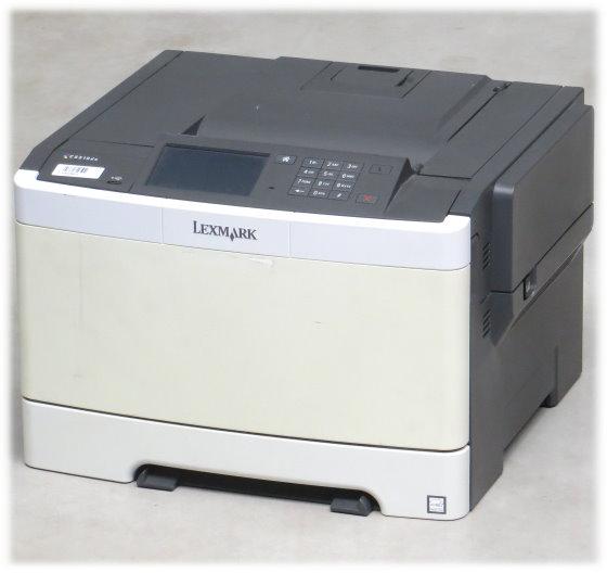 Lexmark CS510de 30 ppm 512MB Duplex LAN 102.235 Seiten Farblaserdrucker B-Ware