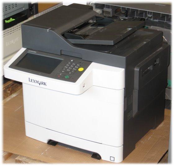 Lexmark CX510de All-in-One FAX Kopierer Scanner Farblaserdrucker 11.430 Seiten