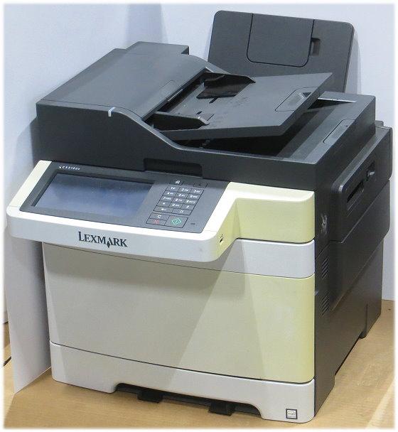 Lexmark CX510de All-in-One FAX Kopierer Scanner Farblaserdrucker 39.650 Seiten B-Ware