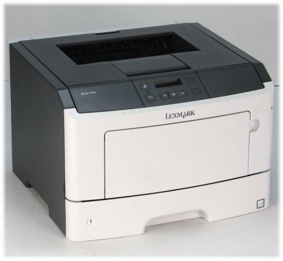 Lexmark MS410DN 38 ppm 256MB Duplex unter 20.000 Seiten ohne Toner/Bildtrommel