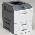 Lexmark MS810dn 52 ppm 512MB Duplex LAN Laserdrucker 66.200 Seiten B-Ware