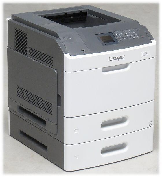 Lexmark MS810dn 52 ppm 512MB Duplex LAN Laserdrucker 67.100 Seiten B-Ware