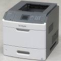 Lexmark MS810dn 52 ppm 512MB Duplex LAN Laserdrucker B-Ware vergilbt