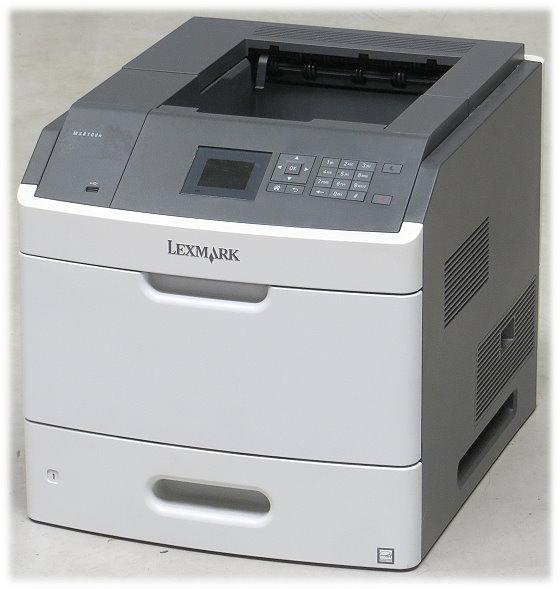 Lexmark MS810dn 52 ppm 512MB Duplex LAN Laserdrucker unter 5.000 Seiten