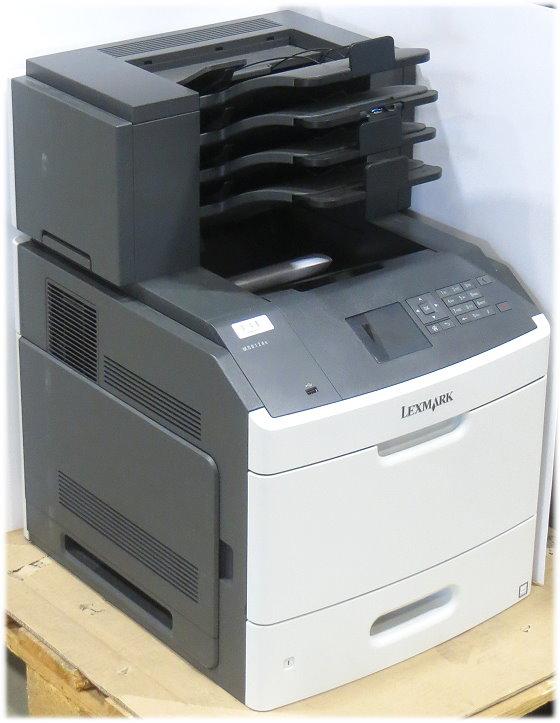 Lexmark MS812dn 66 ppm 512MB Duplex LAN4x-fach Sorter Drucker ohne Toner