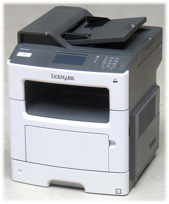 lexmark mx410de fax kopiere scanner adf duplex lan. Black Bedroom Furniture Sets. Home Design Ideas