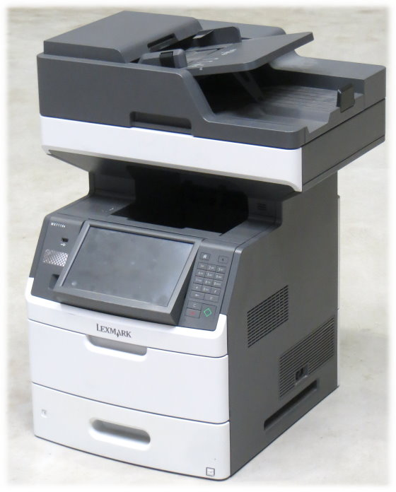 Lexmark MX711de FAX Kopierer Scanner Laserdrucker All-in-One Duplex ADF