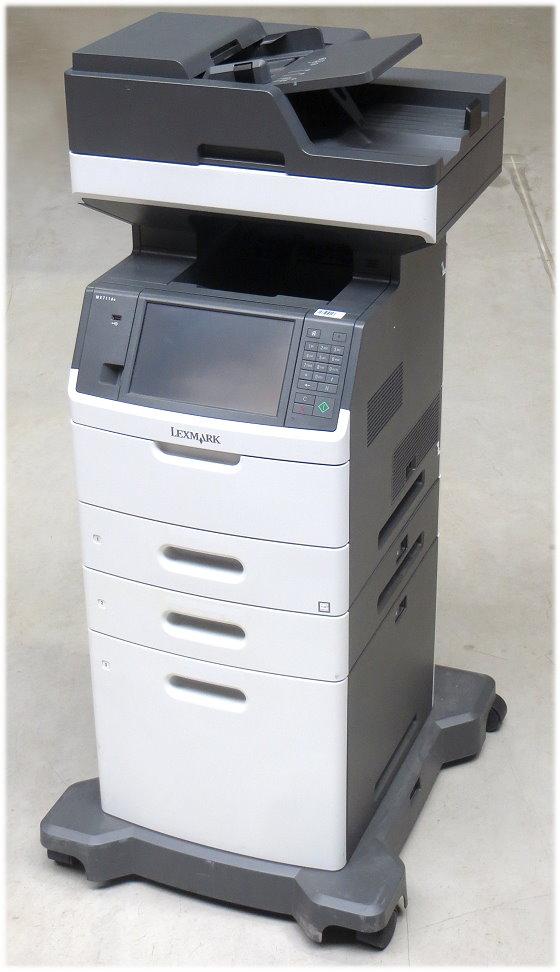 Lexmark MX711dte All-in-One FAX Kopierer Scanner Laserdrucker ADF Duplex