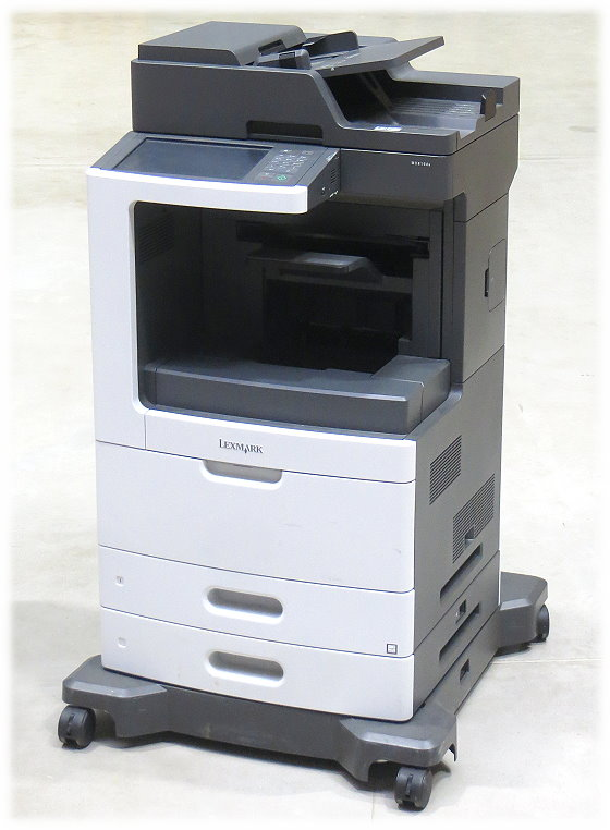 Lexmark MX810de All-in-One FAX Kopierer Scanner Laserdrucker vergilbt unter 20.000 Seiten