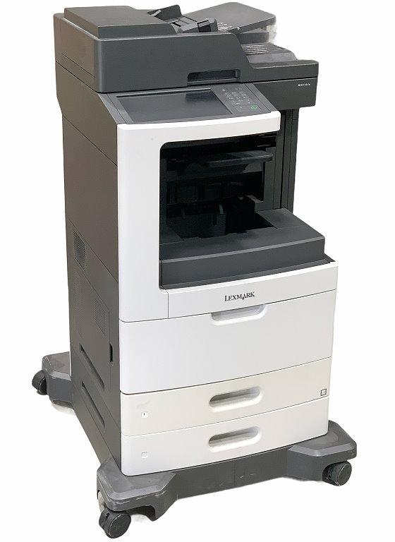 Lexmark MX810de All-in-One FAX Kopierer Scanner Laserdrucker unter 100.000 Seiten B-Ware
