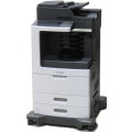 Lexmark MX811de All-in-One FAX Kopierer Scanner Laserdrucker 129.300 Seiten