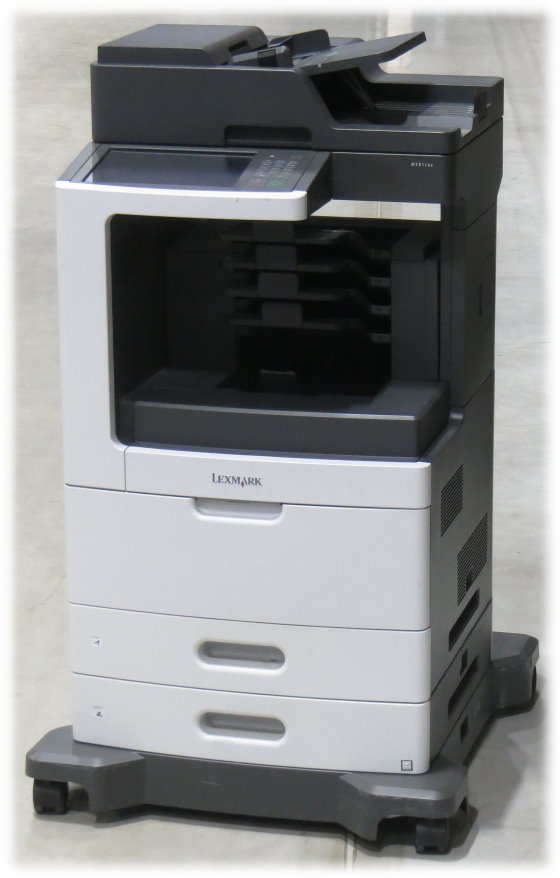 Lexmark MX811de All-in-One FAX Kopierer Scanner Laserdrucker 130.400 Seiten