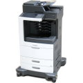 Lexmark MX812de All-in-One FAX Kopierer Scanner Laserdrucker 40.000 Seiten