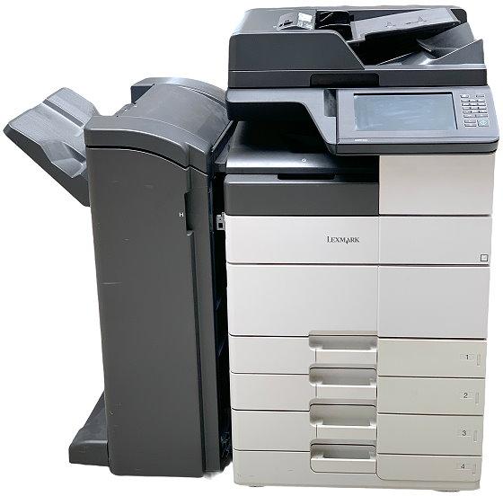 Lexmark MX910de DIN A3 All-in-One FAX Kopierer Scanner Drucker 104.420 Seiten B- Ware