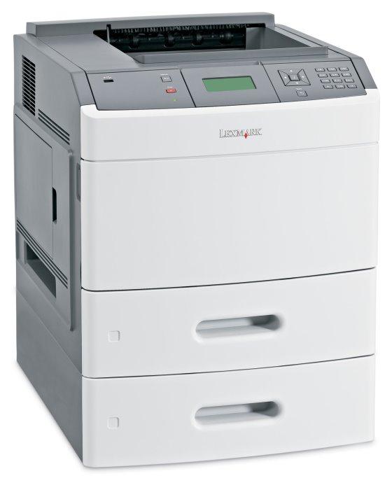 Lexmark T652dtn 48 ppm 128MB Duplex Netz Laserdrucker ohne Tonerkassette