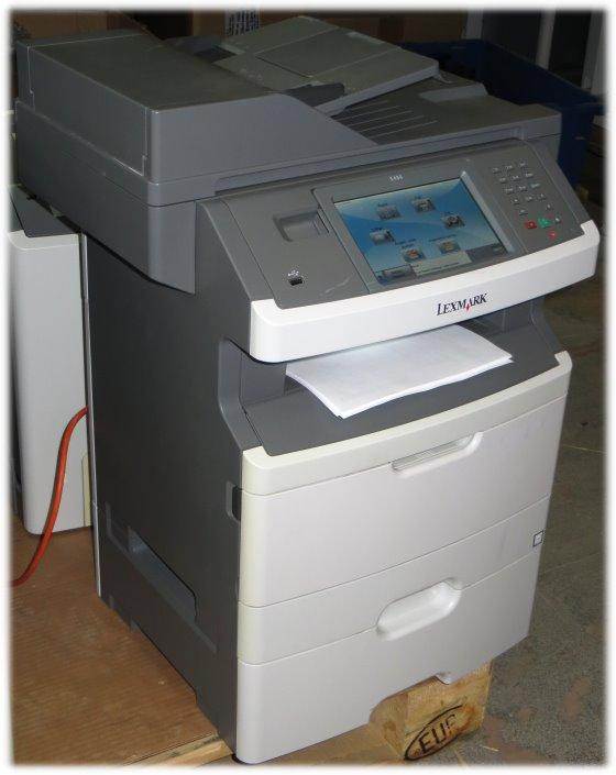Lexmark X466dte All-in-One FAX ADF Duplex Kopierer Scanner Drucker LAN 144.950 Seiten