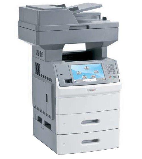 lexmark x654dte mfp fax kopierer scanner laserdrucker unter seiten drucker kopierer. Black Bedroom Furniture Sets. Home Design Ideas