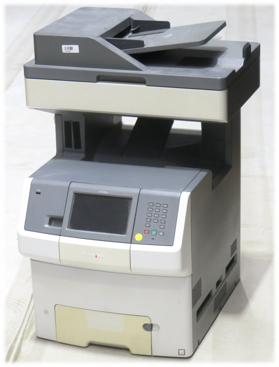 Lexmark X736de All-in-One FAX Drucker Kopierer Scanner ADF Duplex defekt an Bastler