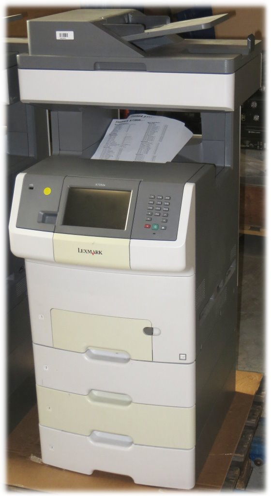 Lexmark X736dte All-in-One FAX Drucker Kopierer Scanner ADF Duplex B-Ware