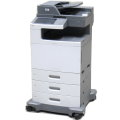 Lexmark X792de All-in-One FAX Kopierer Scanner Farblaserdrucker 106.700 Seiten