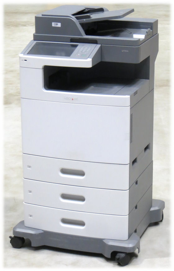 Lexmark X792de All-in-One FAX Kopierer Scanner Farblaserdrucker 140.600 Seiten