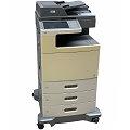 Lexmark X792de All-in-One FAX Kopierer Scanner Farblaserdrucker 92.750 Seiten B-Ware