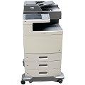 Lexmark X792de All-in-One FAX Kopierer Scanner Farblaserdrucker 30.500 Seiten B-Ware