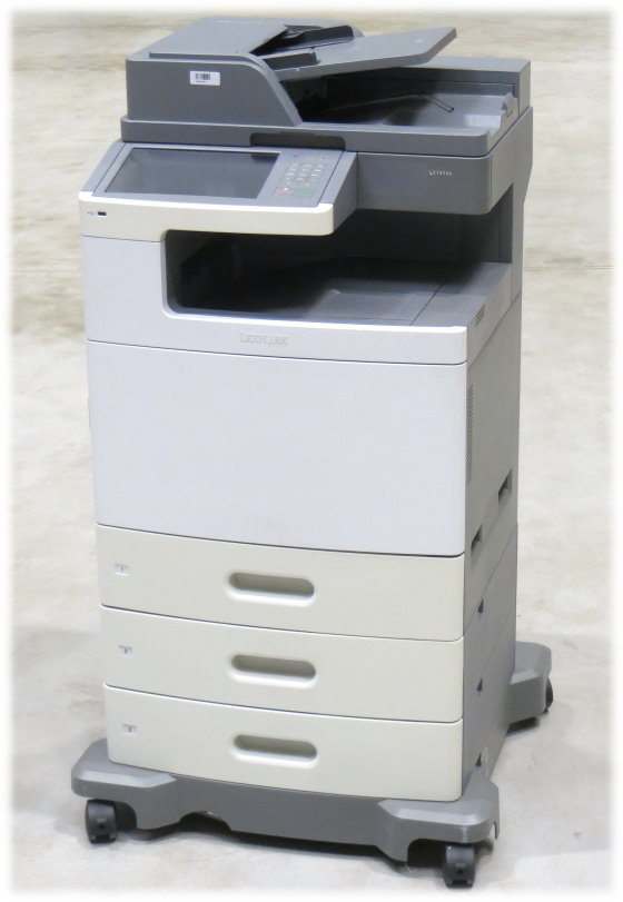 Lexmark X792de All-in-One FAX Kopierer Scanner Farblaserdrucker 206.400 Seiten