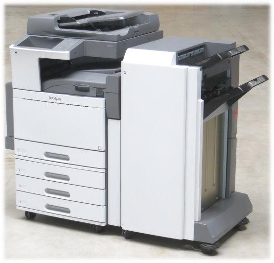 Lexmark X950de DIN A3 FAX Kopierer Scanner Farblaserdrucker 372.600 Seiten