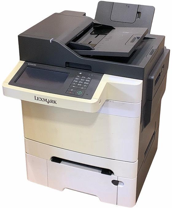 Lexmark XC2132 All-in-One FAX Kopierer Scanner Farbdrucker ADF Duplex LAN 11.770 S. B-Ware