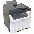 Lexmark XC2132 All-in-One FAX Kopierer Scanner Farblaserdrucker ADF Duplex LAN 4.770 Seiten
