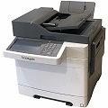 Lexmark XC2132 All-in-One FAX Kopierer Scanner Farblaserdrucker ADF Duplex LAN 25.280 Seiten