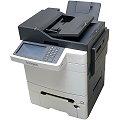 Lexmark XC2132 All-in-One FAX Kopierer Scanner Farbdrucker ADF Duplex LAN 2.PF 3.240 Seiten