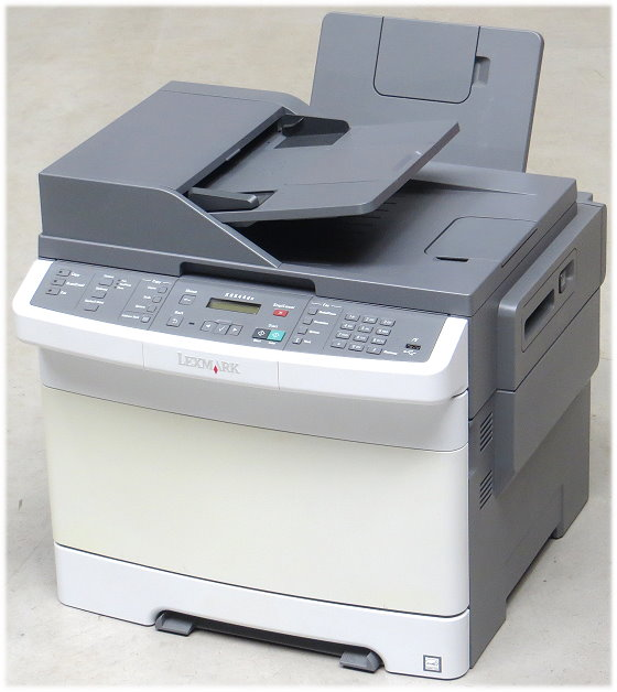 Lexmark XS544DN All-in-One FAX ADF Scanner Farb-Kopierer Drucker B-Ware 1.800 Seiten
