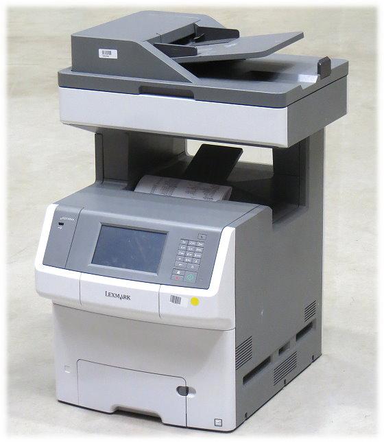 Lexmark X748de All-in-One FAX Kopierer Scanner Farblaserdrucker 95.550 Seiten
